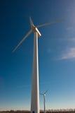 De krachtcentrale van de wind Stock Foto