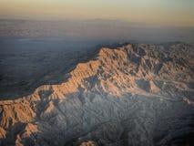 De krachtige luchtmening van Arizona van mountins stock foto