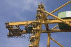 De kranen van de brug Stock Fotografie