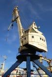 De kranen van de haven Stock Fotografie