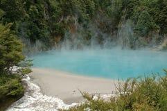 De Krater van de vuurhaard stock foto