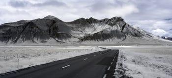 De Krater van IJsland in Infrared Royalty-vrije Stock Fotografie