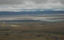 De Krater van Ngorogoro Stock Foto's