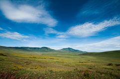 De krater van Ngorongoro, Tanzania Royalty-vrije Stock Fotografie