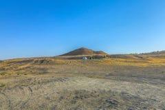 De Kraterkuil 07 van het Darvazagas stock foto's