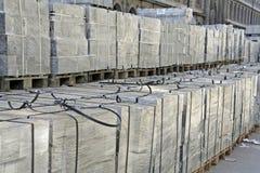 De kratten van de verpakking Stock Foto