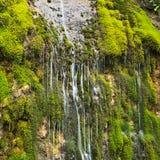 De kreek van de rots in de Pyreneeën Stock Foto's