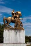 De Krijgskunst - Standbeeld van de Herdenkingsbrug van Arlington royalty-vrije stock fotografie