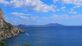 De Krim en zijn landschappen Stock Afbeeldingen