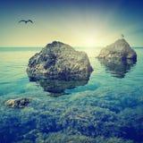 De Krim seascape_1 Stock Foto's