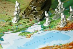 De Krimcrisis in de Oekraïne Royalty-vrije Stock Foto's