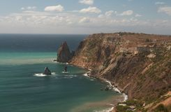 De Krimkust Royalty-vrije Stock Foto