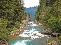 De krimmlerwatervallen in Oostenrijk Royalty-vrije Stock Afbeelding