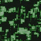 De kring regelt naadloze geproduceerde textuur vector illustratie