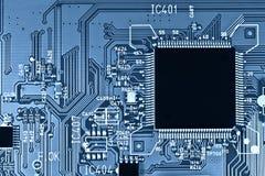 De kring van de microchip Royalty-vrije Stock Afbeelding