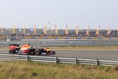 De kring van Max Verstappen Grand prix zandvoort stock afbeeldingen