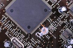 De kringsraad van de computer Royalty-vrije Stock Afbeeldingen