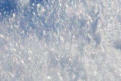 De kristallen van de sneeuw Stock Afbeelding