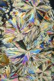 De kristallen van de suiker stock fotografie