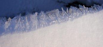De kristallen van het ijs Royalty-vrije Stock Foto