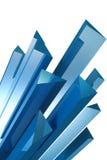 De kristallen van het ijs royalty-vrije illustratie