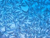 De kristallen van het ijs Stock Foto