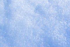De kristallenachtergrond van de sneeuw Royalty-vrije Stock Afbeeldingen