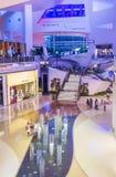 De Kristallenwandelgalerij van Las Vegas Stock Fotografie