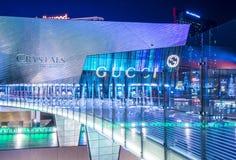 De Kristallenwandelgalerij van Las Vegas Royalty-vrije Stock Afbeelding