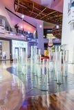 De Kristallenwandelgalerij van Las Vegas Royalty-vrije Stock Afbeeldingen