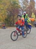 De Kritieke Massa van de Rit van de fiets Stock Foto's