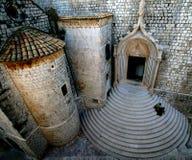 De Kroatische Stappen van de Kerk stock foto