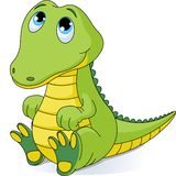 De krokodil van de baby Royalty-vrije Stock Fotografie