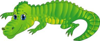 De krokodil van het beeldverhaal stock illustratie