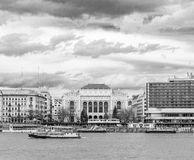 De kromming van Donau Stock Foto's