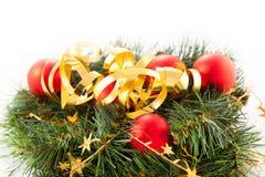 De kronen van Kerstmis Royalty-vrije Stock Fotografie