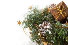 De kronen van Kerstmis Stock Fotografie