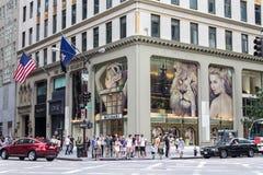 De kroon die de Stad van New York bouwt Royalty-vrije Stock Afbeelding