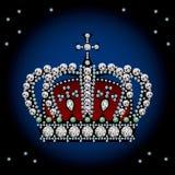 De kroon van de decoratie Stock Afbeelding