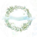 De kroon van de huwelijksuitnodiging Stock Foto's