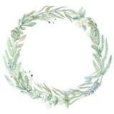 De kroon van de huwelijksuitnodiging Stock Foto