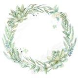 De kroon van de huwelijksuitnodiging Stock Fotografie