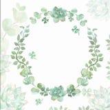 De kroon van de huwelijksuitnodiging Royalty-vrije Stock Afbeelding