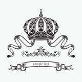 De kroon van de koning. Royalty-vrije Stock Fotografie
