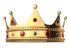 De Kroon van de koning Stock Foto
