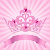 De kroon van de prinses Stock Afbeelding