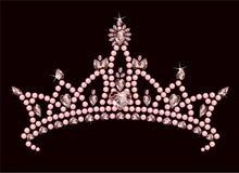 De Kroon van de prinses Stock Fotografie