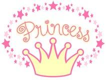 De Kroon van de prinses Royalty-vrije Stock Fotografie