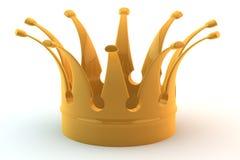 De kroon van Glden Stock Afbeelding