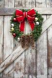 De kroon van Kerstmis Royalty-vrije Stock Foto's